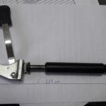 Амортизатор газовый(с ручкой и с вилкой)